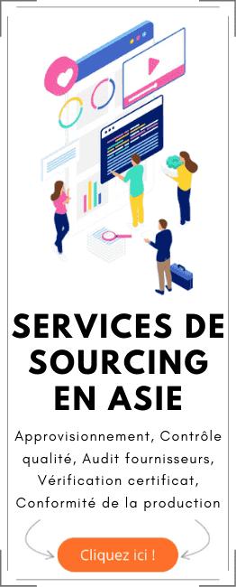Services de sourcing en ASIE